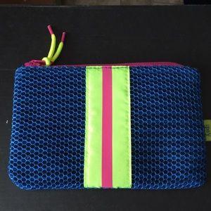 New Mesh Sports Style Neon Makeup Bag
